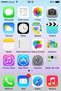 iOS 7 Sevilla Novedades.