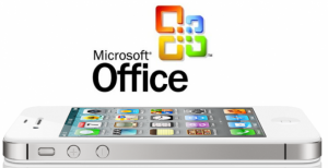 Microsoft Office disponible para iOS.