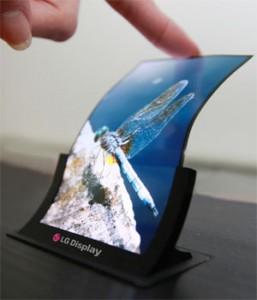 LG lanzara el primer smartphone con pantalla flexible