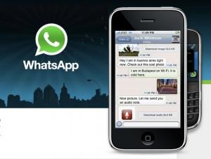 Whatsapp se actualiza a la version 2.10.1 en iPhone