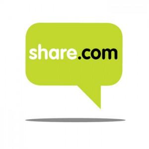 Share.com ofrece 100 GB de almacenamiento gratuito en la nube