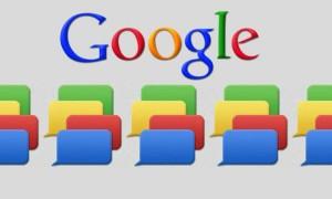 Servicios de mensajeria instantanea de Google