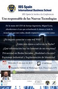 Conferencia-Miguel-Lora-IBS-Spain