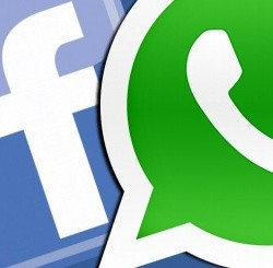 Datos de WhatsApp en Facebook